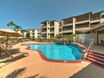 Nestled in the Kona Coast Resort, this unit offers over 1,400 square feet and all of the amenities of home.