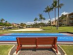 The property also includes shuffleboard courts, a beach volleyball court, and a picnic area with gas grills.