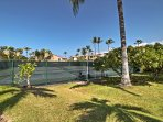 Take in a game of tennis during your stay, or head to one of the 2 community pools for a refreshing swim.