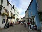 Visit chepstow with ints independent shops and many pubs and cafe's