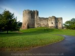 Chepstow Castle is arguably the oldest stone castle in the country