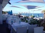restaurant de plage à Ghisonaccia front de mer - plage