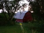 Old Hay Barn on site