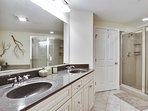 Double Vanity Sinks in Master Bath  B