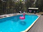 Large 11m pool