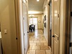 Hallway to Bedrooms Two and Three