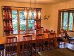 Dining Area Seats Ten