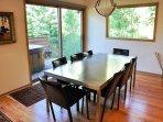 Elegant Dining Area Seats Eight