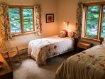 Two Twin Beds in the Fourth Bedroom