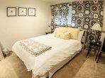 Queen Bed in the Third Bedroom