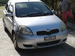 Toyota Vitz for rental