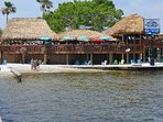 Cape Coral beach waterfront Restaurant.