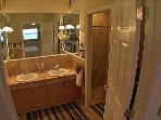 MASTER BATH ROOM w. Walk In shower & Vanities