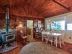 You'll love the rustic details in this quaint property.