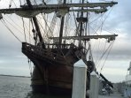 El Galeon visits Saint Augustine on a frequent basis. Tours possible.