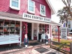 Historic 1856 Country Store on Main Street Centerville for gifts, penny candy, soveniers!