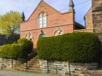 THE OLD TEMPERANCE HALL, original features, enclosed garden, in Kingsley, Ref 96