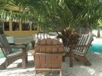 Main Courtyard Lounge Area
