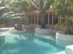 Main Courtyard Lagoon Style Swimming Pool