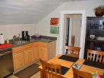 Kitchen, does not have a stove, but is very well  equipped with everything else you will need.