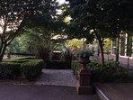 Guest room front garden