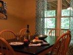 Beginning the dinner meal, Dinning Room