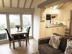 Very sociable living, dining and relaxing