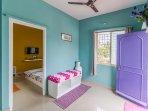 Living & Bedroom view