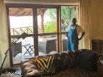 John Mutungi, our Manager and Head Chef leads a hardworking and friendly team to serve you.