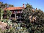 Kiota Safari House view from the Southeast.