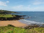 Bovisand Lodge Holiday park - one of the public beaches that the park backs onto