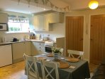 Spacious dining kitchen, well equipped and spotlessly clean