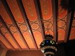 plafond du salon 2éme étage