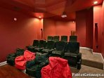 Theater Room Seating at Grande Mountain Lodge