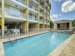 You'll love the resort amenities at this lovely Rincon vacation rental apartment, located within walking distance of...