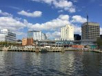 Waterside District - Downtown Norfolk.  Great food and entertainments