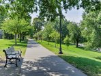 Take a soothing stroll through Federal Hill Park.
