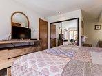 Master Bedroom- King Bed- En-Suite Bathroom - Flat Screen TV