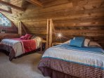 Bedroom upstairs main cabin