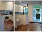 Kitchen and garden side