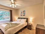Each bedroom hosts a flat-screen Smart TV!