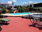 Area relax in piscina