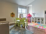 This family-friendly property includes a great game room for the kiddos!