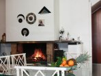 fire place Kitchen