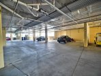 Garage parking space with your unit