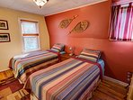 Twin bedroom - two XL twin beds can be pushed together to form a king bed