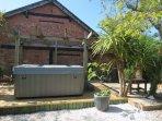 HOT TUB AT HOME FARMHOUSE
