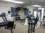 On site workout room is included