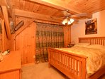 chalet room - queen bed