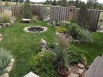 Summer front garden